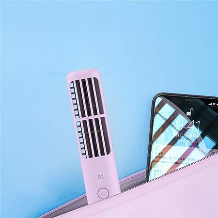 CAOQAO - Mini Ventilador de Columna USB con 3 velocidades ...