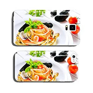 spaghetti with seafood cell phone cover case iPhone6