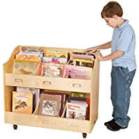 Guidecraft Mobile Book Organizer Set