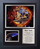Legends Never Die Star Trek Tv Framed Photo Collage, 11 x 14""
