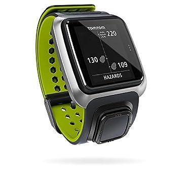 TomTom Golfer - Reloj para Golf con GPS, Color Gris / Verde, Talla Unica