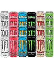 Monster Energy Mega Mixed Variety Pack - Origineel, Ultra, Ultra Paradise, Pijpleiding Punch, Mango Loco, Mixxd Punch