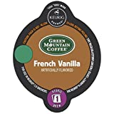 Pack of 12 Keurig 2.0 Green Mountain Coffee French Vanilla Light Roast Coffee K-Carafe