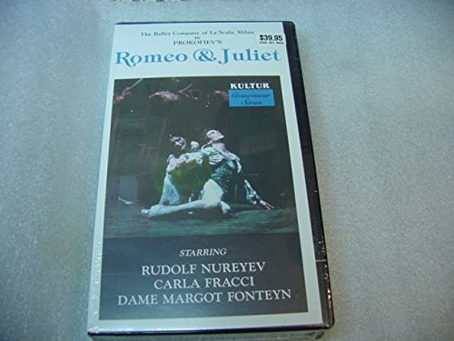 - VHS Video Tape Of The Ballet Company Of La Scala, Milan In Prokofiev's ROMEO & Juliet.