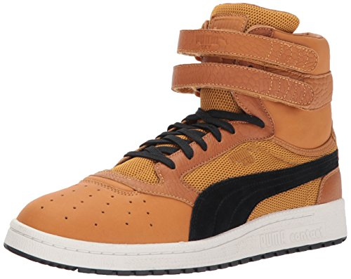 II PUMA Lthr Color Sky Black Blocked Hi Men's Inca Sneaker Gold puma rxxH4