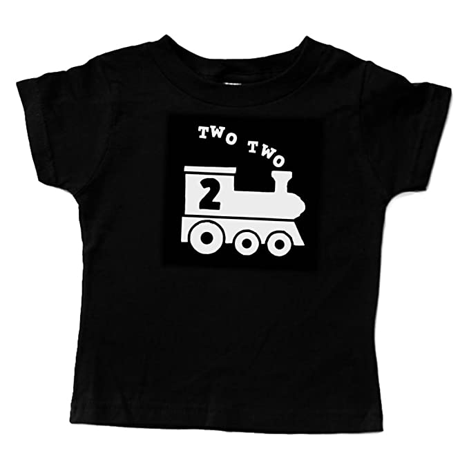 Amazon 2nd Birthday Two Train Shirt 2 Toddler Boy Or Girl