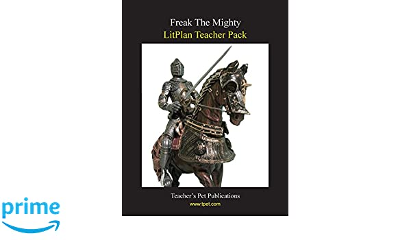 Amazon.com: Freak the Mighty LitPlan Teacher Pack (Print Copy ...