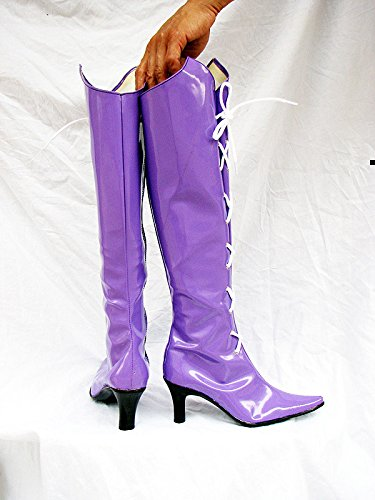 Telacos Sailor Moon Sailor Saturn Hotaru Tomoe Cosplay Shoes Boots Custom Made latest collections kSA5nn8W
