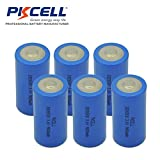 3.6V ER 26500 C Size 9000mAh Lithium Thionyl Chloride Battery With Button Top (6pc)