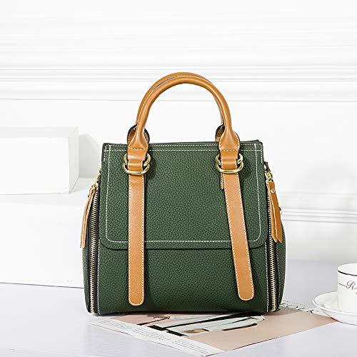 British Vert bandoulière Sacs Big Sacs de Bags Femme Sacs Sacs à WENLONG Femme Iw78qC