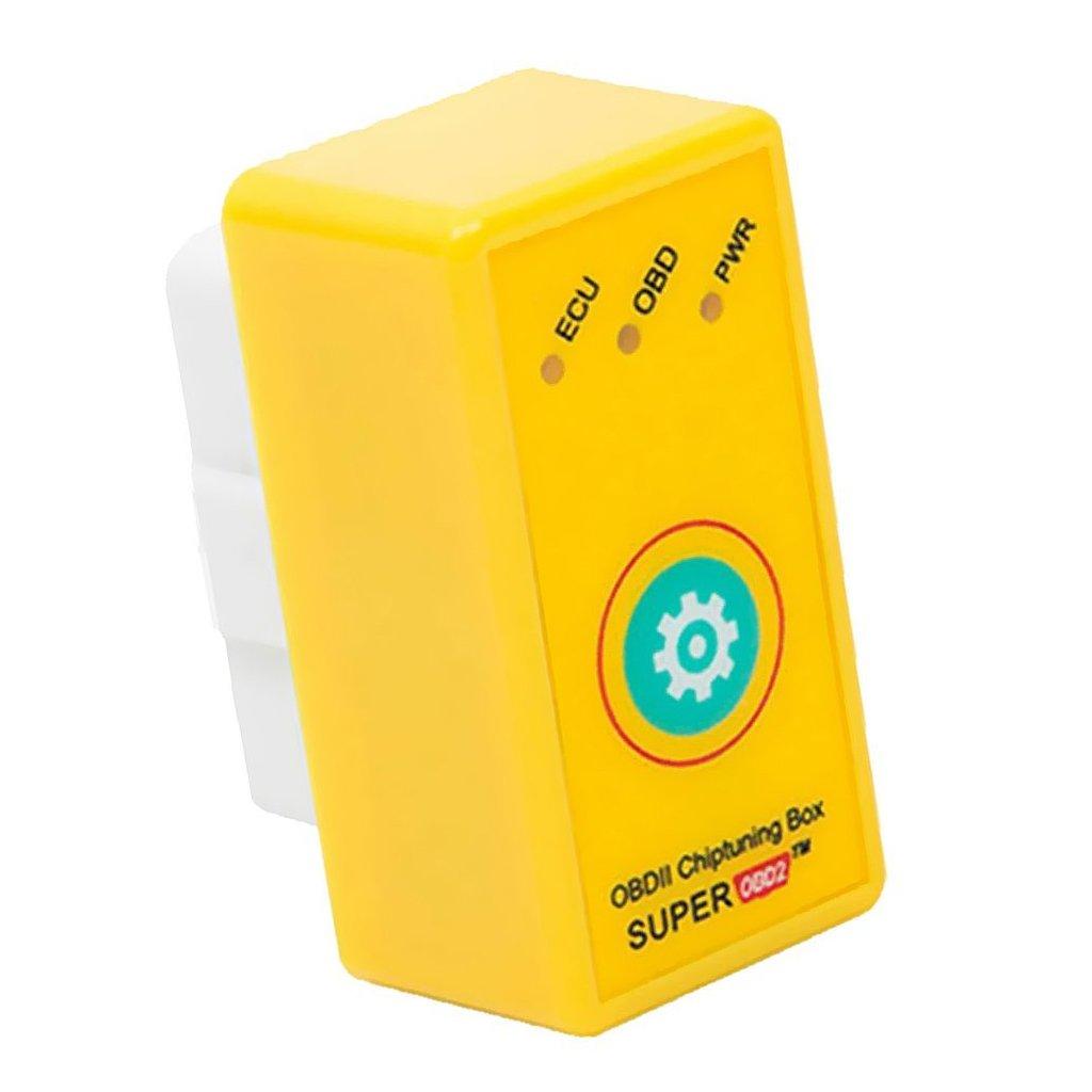 TOOGOO Super OBD2 Car Chip Tuning Box Plug and Drive SuperOBD2 More Power/More Torque As Nitro OBD2 Chip Tuning NitroOBD2 Chip Tuning Suitable for Gasoline Vehicles