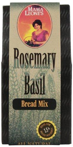 Mama Leone's Rosemary Basil Bread, 17-Ounce Box (Pack of - Bread Machine Italian