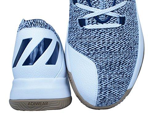 adidas Rise Up, Zapatos de Baloncesto Para Hombre, Negro (Negbas/Neguti/Ftwbla), 48 EU