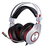 XIBERIA K5 Comfortable USB Over-Ear Pro Gaming Headset for PC/Mac/Laptop with Surround Sound Flexible Microphone - 12 Month Warranty