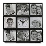 Cherished Memories Picture Frame Clock