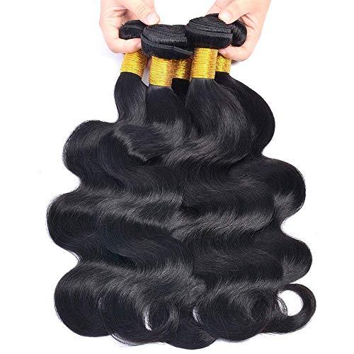 wigs buy Haarverlängerung, 66 cm (26 Zoll), Black#1B (Klassische Farbtöne)