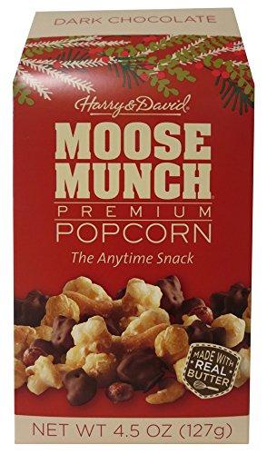 Moose Munch Dark Chocolate Holiday Caramel Popcorn
