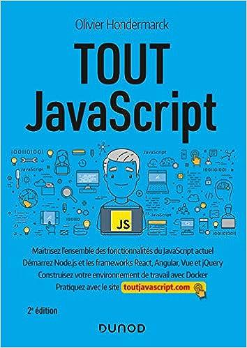 Livre Tout JavaScript