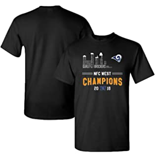 New Era Los Angeles Rams 2018 NFC Conference Champions Locker Room 9FORTY  Hat ·  19.95 · Finitee Rams 2018 NFC West Champions Tees with Full Colors  Digital ... 6133defa4