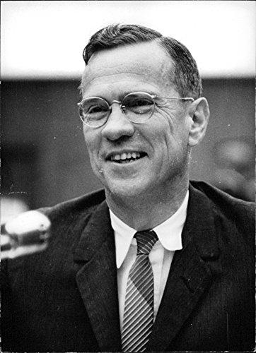 (Vintage photo of Portrait of William McChesney Martin.)
