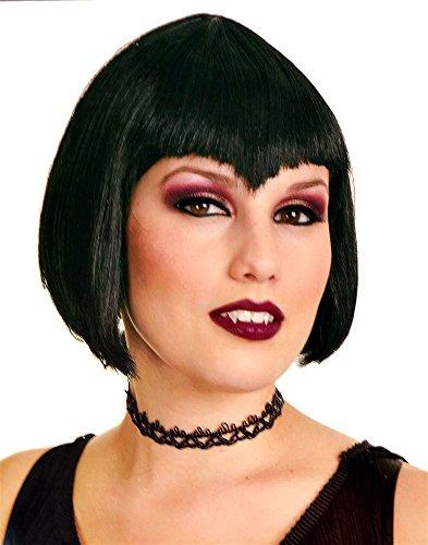 Va Va Vamp Black Wig, Womens, One Size (Va Va Vamp Wig)