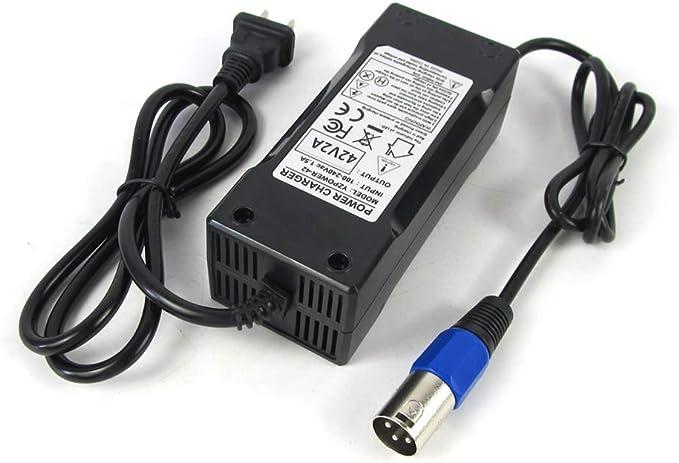 Amazon.com: Cargador de batería para bicicleta eléctrica de ...