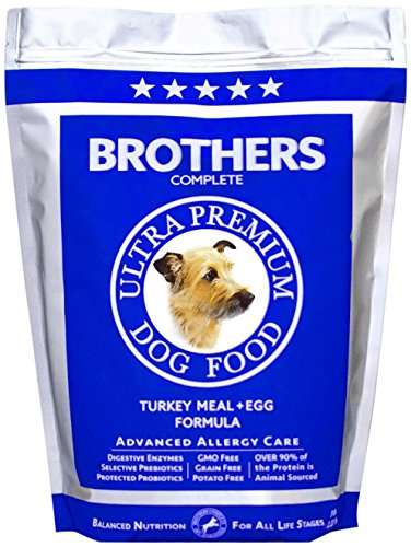 Complete Turkey - Brothers Complete Turkey & Egg Advanced Allergy Care Dog Food 5 LB