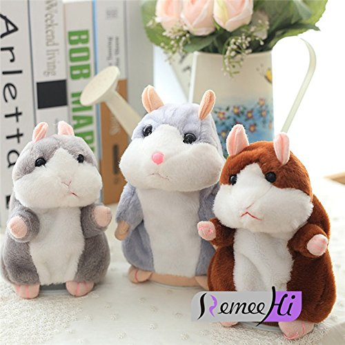 Plush Toys to send friends birthday gifts Hamster Mouse Boxed 15cm Gray (Troll And Toad Canada)