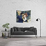 Society6 Wall Tapestry, Size Small: 51'' x 60'', Auguste Renoir Country Dance by Alexandra_Arts