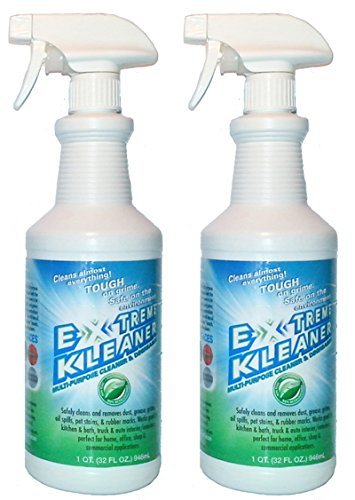 Extreme Kleaner - Green Cleaning Products: All Purpose Green Cleaner: 2 Spray Bottles (32oz)