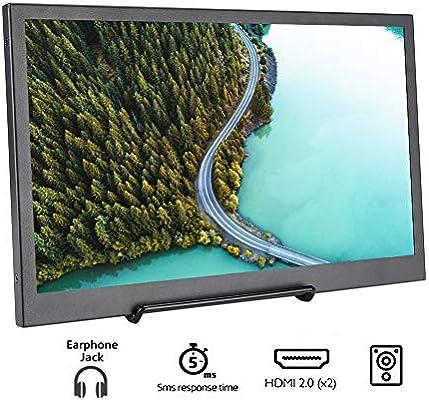 Diyeeni Monitor 13.3 Pulgadas 1080P,1920 * 1080 IPS HDR Monitor de Juego Ultra Delgado Pantalla de Visualización Portátil HDMI: Amazon.es: Electrónica