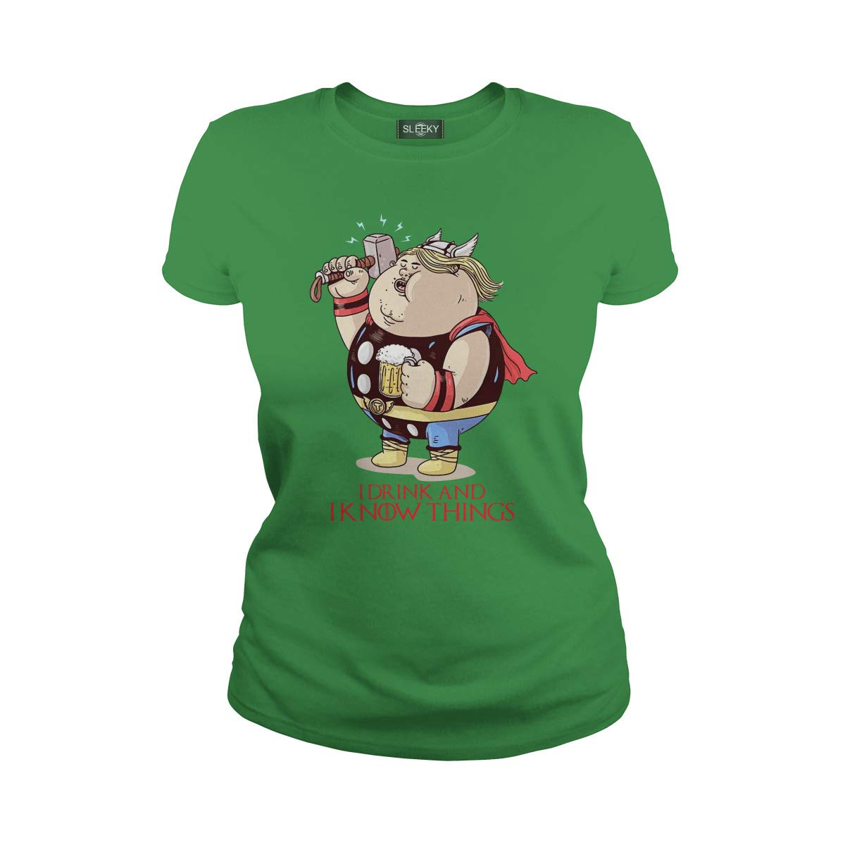 Fat Thor I Drink and I Know Thing T-Shirt