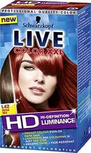 Schwarzkopf LIVE Color XXL Luminance L42 Infra Red