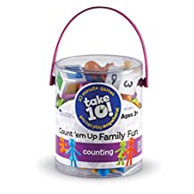 Learning Resources LER9442-D Take 10 Games Count Em up Family Fun