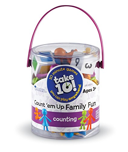 51MiofWUvxL - Learning Resources Take 10 Games Count Em Up Family Fun