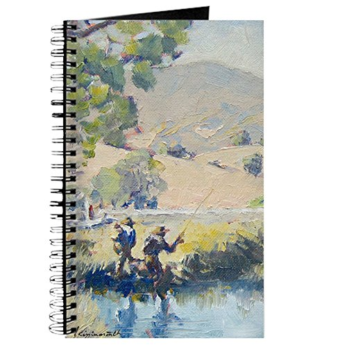 CafePress - Hopper' Fly Fishing. - Spiral Bound Journal Notebook, Personal Diary, Dot Grid Hopper Dot
