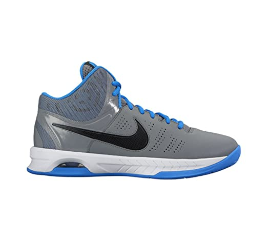 New Nike Men's Air Visi Pro VI Basketball Shoe Grey/Blue 9.5
