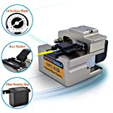 SPEEDWOLF FTTH High Precision Fiber Optic Cleaver 250μm-900μm fiber optic cutter tool for fiber splicing with 16 Surface Blade,48,000 Cleaves,3in1 holder and Optic fiber scrap collector(OP-OFC21)