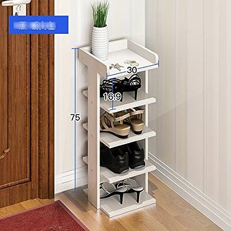 Pasamanos Muebles Sencillo y moderno gabinetes de almacenaje del hogar del zapato del zapato estante de