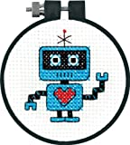 #2: Dimensions Needlecrafts Counted Cross Stitch, Robot