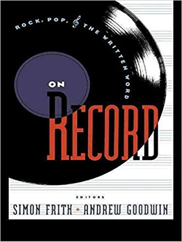 [On Record: Rock, Pop and the Written Word] (By: Simon Frith) [published: September, 2000]