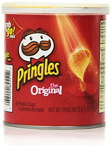 Pringles Original Small Stacks, 1.3 Ounce (Pack of 12)