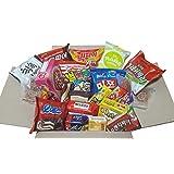 Sweet Korean Snack Box (22Type 25EA) / Various Korean Snacks, Chips, Cookies, Candy, Ramen/Gift Package
