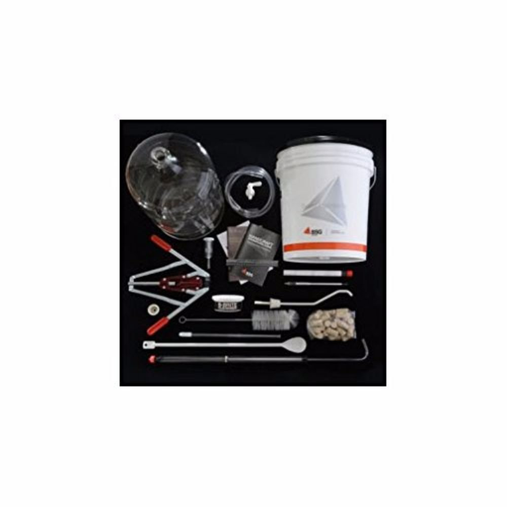Deluxe Wine Making Kit and Durable Wine Kit) by Strange Brew
