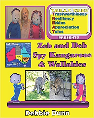 Zeb and Deb Spy Kangaroos and Wallabies