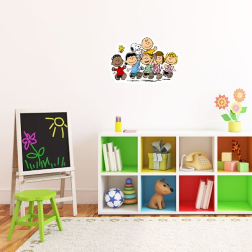 Peanuts Gang snoopy Wall Graphic Decal Sticker 25