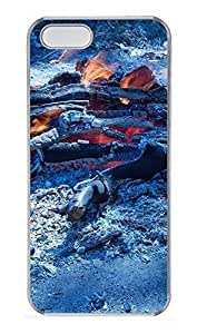 iPhone 5 5S Case Campfire PC Custom iPhone 5 5S Case Cover Transparent by mcsharks