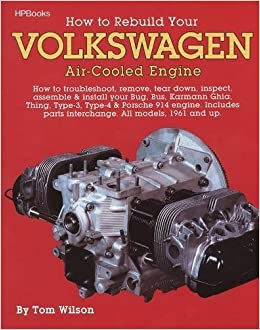 How to rebuild your volkswagen air cooled engine all models 1961 how to rebuild your volkswagen air cooled engine all models 1961 and up tom wilson 0075478002252 amazon books sciox Images