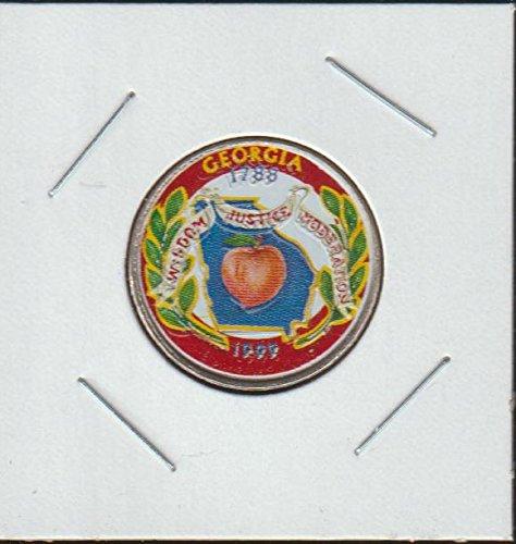 1999 P Washington State Quarter Georgia Quarter Choice Extremely Fine