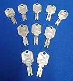 Lot 10 Each Forklift Ignition key Keys Clark Yale Daewoo Hyster Gradall Jlg